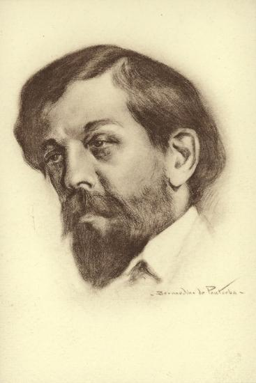 Claude Debussy, French Composer--Giclee Print