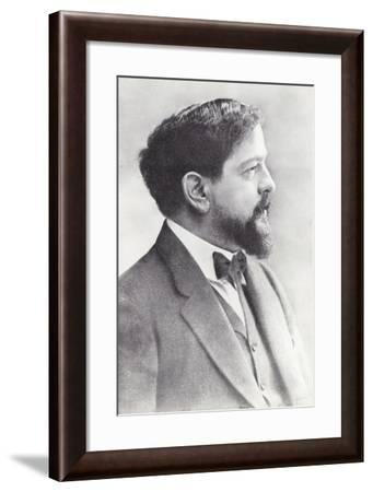 Claude Debussy, French Composer--Framed Photographic Print