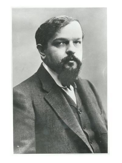 Claude Debussy-Paul Nadar-Giclee Print