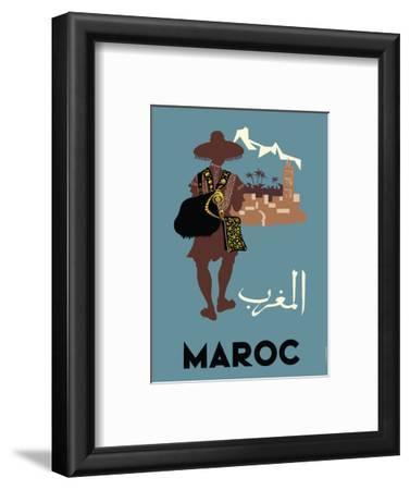 Maroc (Morocco) - Native Moroccan approaches town