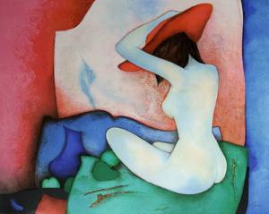 Coussin Vert by Claude Gaveau