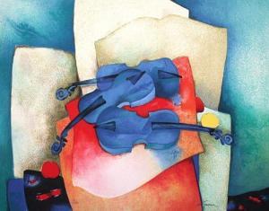 S - Violon Bleus by Claude Gaveau