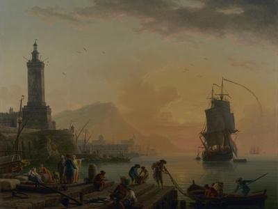 A Calm at a Mediterranean Port, 1770