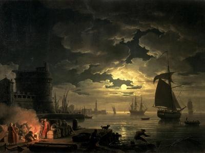 Harbor of Palermo, c.1750