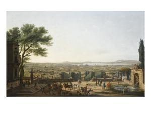 La Ville et la rade de Toulon by Claude Joseph Vernet