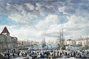 Le Port De Marseilles by Claude Joseph Vernet