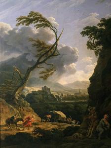 Midi Sur Terre, Le Coup De Vent (Gust of Wind), 1767 by Claude Joseph Vernet