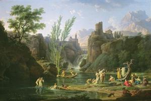 Morning, the Bathers, 1772 by Claude Joseph Vernet