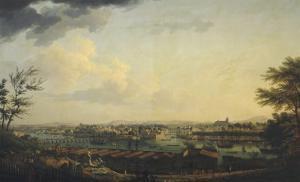 Port de Bayonne by Claude Joseph Vernet