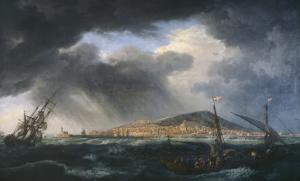 Port de Sète by Claude Joseph Vernet