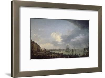 Première vue du port de Bordeaux, prise du côté des salinières
