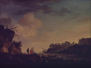 Ruins Near the Mouth of a River, 1748 by Claude Joseph Vernet