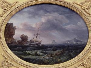 Shipwreck by Claude Joseph Vernet