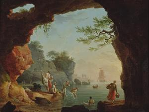 The Bathers by Claude Joseph Vernet