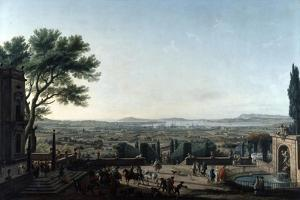 The City and Roads of Toulon, France, 1756 by Claude Joseph Vernet