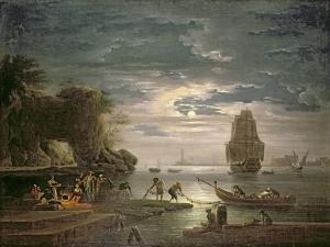The Night by Claude Joseph Vernet