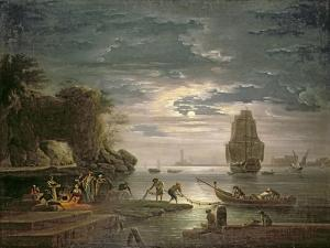The Night by Claude Joseph Vernet
