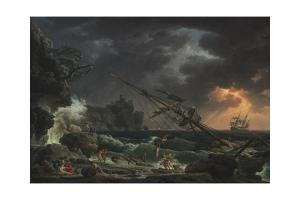 The Shipwreck, 1772 by Claude Joseph Vernet