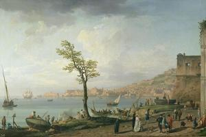 View of the Bay of Naples, 1748 by Claude Joseph Vernet