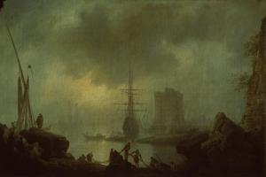 View of the Sea Mist by Claude Joseph Vernet
