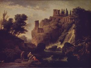 Waterfall in Tivoli, 1747 by Claude Joseph Vernet