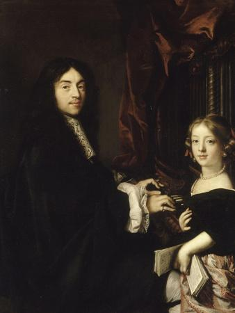 Charles II Couperin (1638-1679), organiste, et la fille de Claude Lefebvre