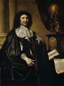 Jean Baptiste Colbert 1666 by Claude Lefebvre