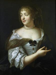 Madame De Sevigne, French Courtier and Letter Writer, 17th Century by Claude Lefebvre