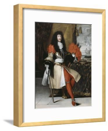 Portrait en pied de Louis XIV (1638-1715), roi de France et de Navarre