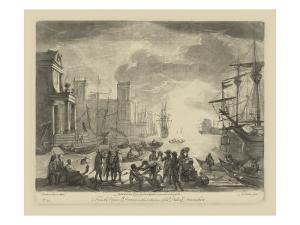 Antique Harbor I by Claude Lorraine