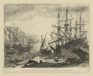 Antique Harbor III by Claude Lorraine