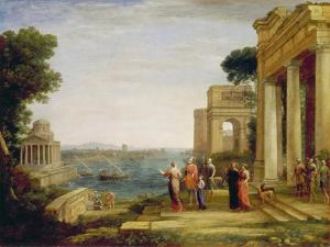 Dido and Aeneas, 1675/1676 by Claude Lorraine
