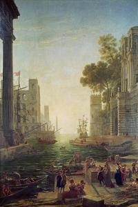 Embarkation of St. Paul at Ostia by Claude Lorraine