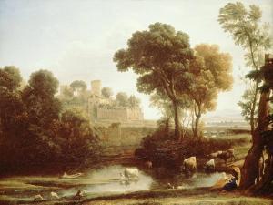 Italian Landscape, 1640 by Claude Lorraine
