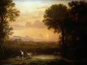 Landscape at Dusk by Claude Lorraine