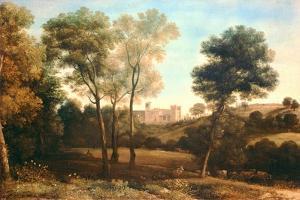 Landscape with Castle by Claude Lorraine