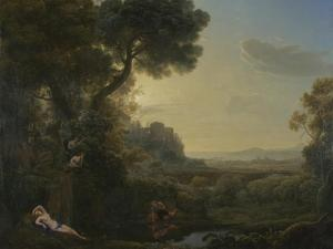 Landscape with Narcissus and Echo, 1644 by Claude Lorraine