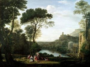 Landscape with the Nymph Egeria by Claude Lorraine