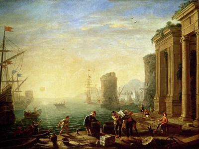 Morning at the Port, 1640