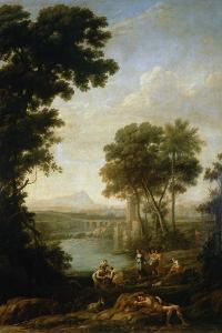 Moses Saved From the Waters of the Nile, 1639-1640 by Claude Lorraine