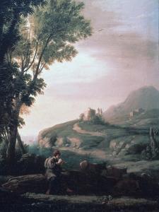 Pastoral Landscape, C1620-1682 by Claude Lorraine