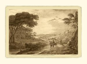 Pastoral Landscape VII by Claude Lorraine