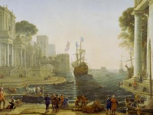 Ulysses Returning Chryseis to Her Father by Claude Lorraine