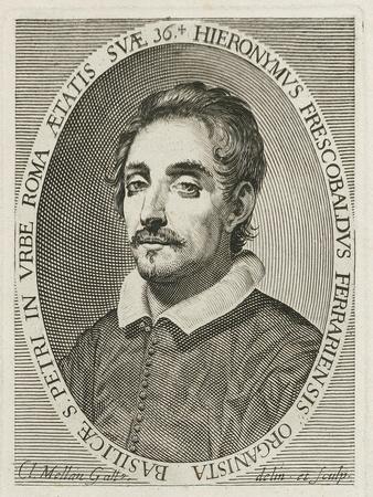 Portrait of the Composer Girolamo Frescobaldi (1583-164), 1634