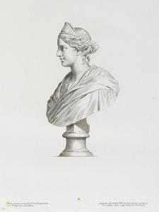 Tableau du Cabinet du Roi, statues et bustes antiques des Maisons Royales Tome II : planche 22 by Claude Mellan