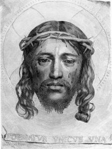 The Head of Christ, 1735 by Claude Mellan