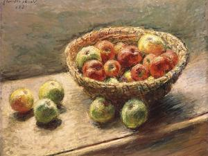 A Bowl of Apples; Le Panier De Pommes, 1880 by Claude Monet