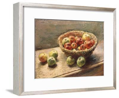 A Bowl of Apples; Le Panier De Pommes, 1880