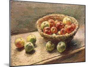 A Bowl of Apples; Le Panier De Pommes, 1880 by Claude Monet