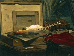 A Corner of the Studio, 1861 by Claude Monet